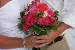 Beach Wedding Pink Bouquet Big Day Weddings