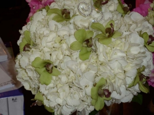 Beach Wedding White Hydrangea Bouquet Big Day Weddings