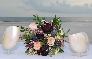 Bridal Bouquet Beach Wedding Alabama Big Day Weddings