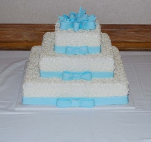 Big Day Orange Beach Wedding Cake 1