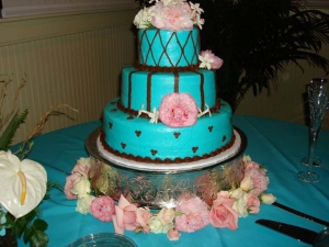 Big Day Orange Beach Wedding Cake 17