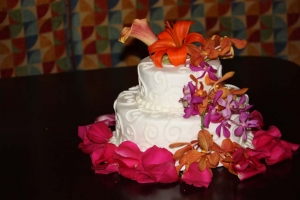 Big Day Orange Beach Wedding Cake 28