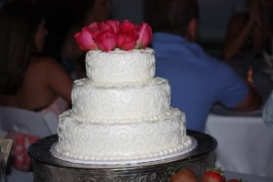 Big Day Orange Beach Wedding Cake 29