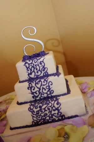 Big Day Orange Beach Wedding Cake 33