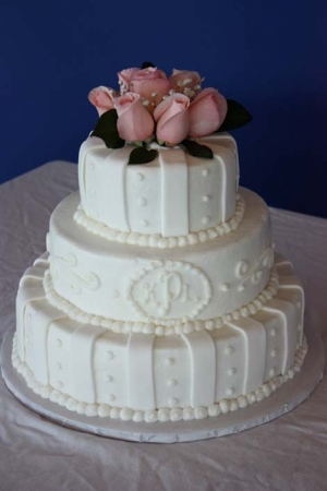 Big Day Orange Beach Wedding Cake 25