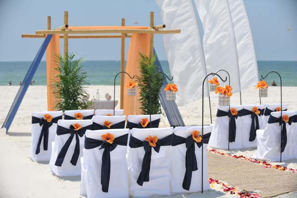 Big Day Weddings Gulf Coast Dream Beach Wedding Packages