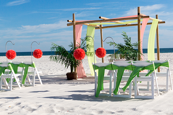 Alabama Beach Wedding Seaside Package
