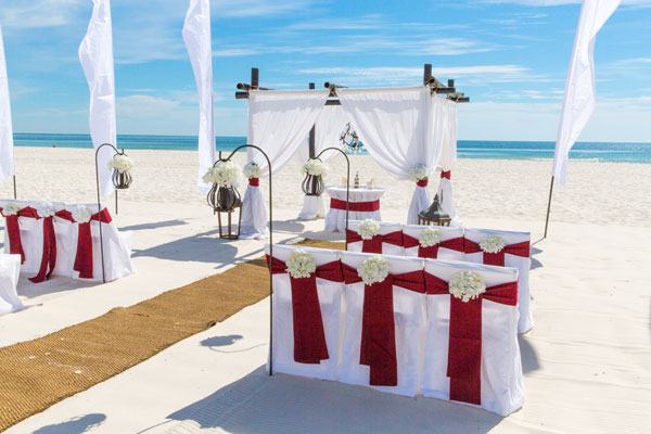Alabama Vintage Beach Wedding Package
