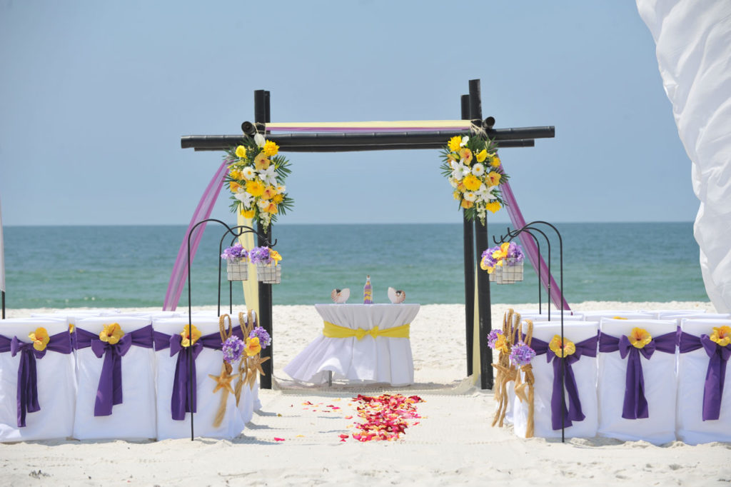 Fall-Beach-Wedding-Purple-and-Gold