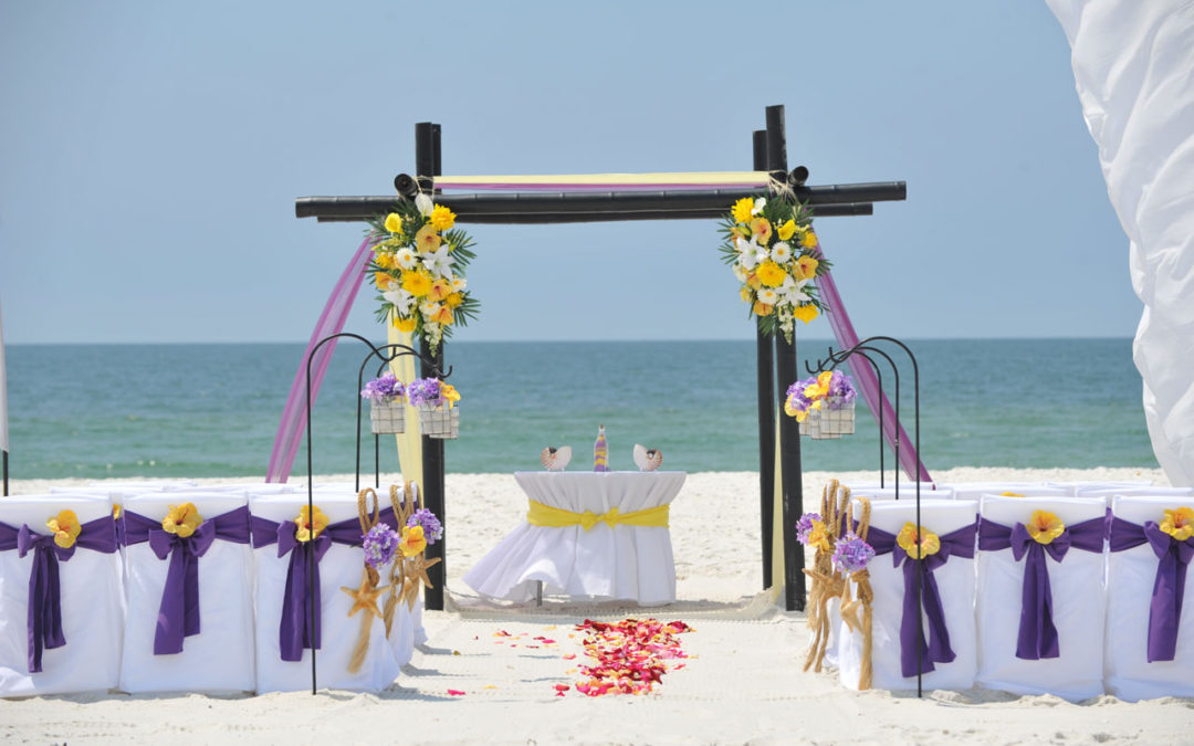 Fall Beach Wedding In Gulf Shores Alabama