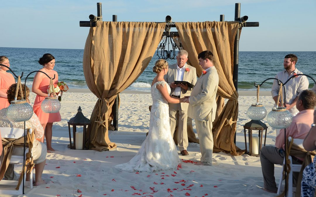 Burlap Beach Wedding Packages